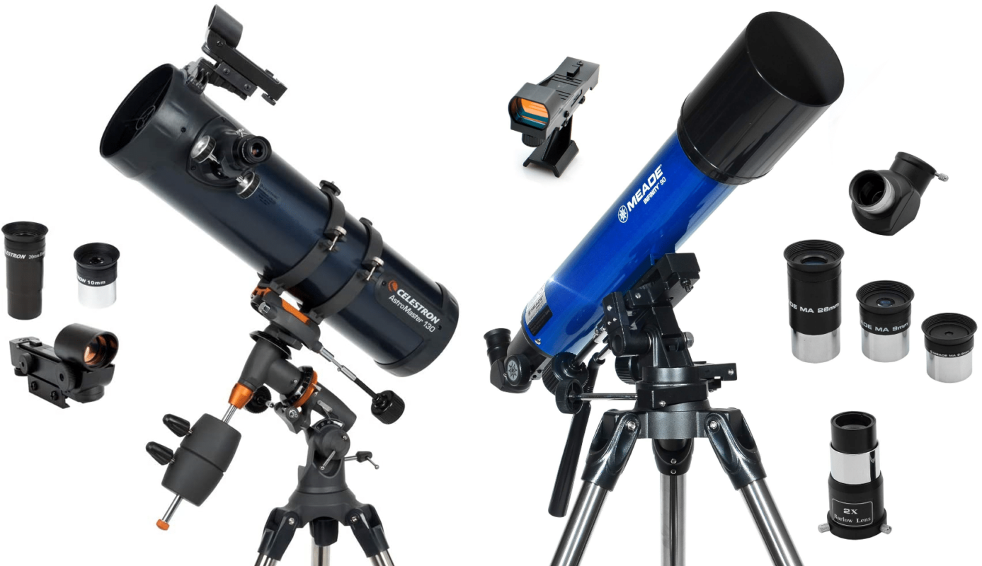 Celestron vs Meade: Choose the Most Powerful Telescope