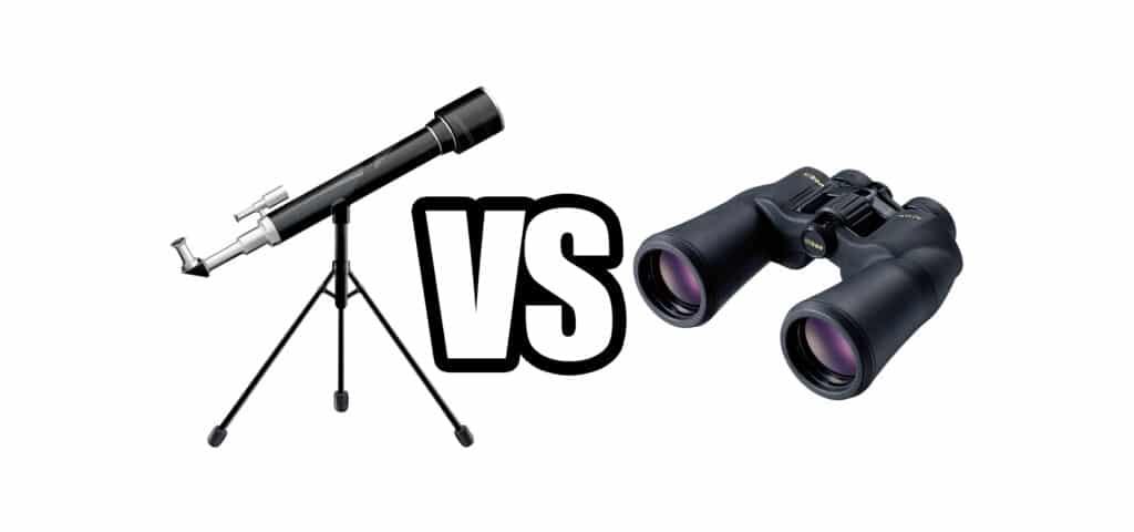 Telescope vs Binoculars for Astronomical Observation